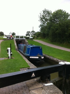 Mucky Duck in Foxton Locks 2012