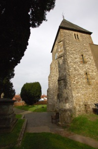 The Church tower looking north