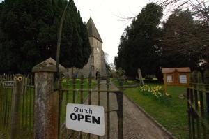 Church open!